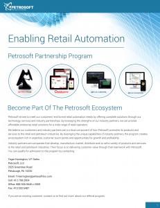 Petrosoft Partnership Flyer