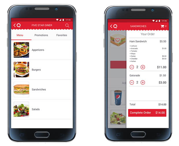 Qwickserve Mobile Food Service Ordering