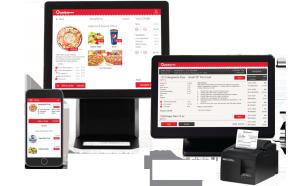 Qwickserve Ordering Kiosk, KDU, Mobile apps, and printers