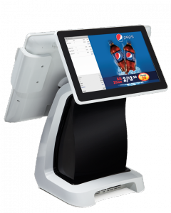 SmartPOS Customer Screen with Merchandise Promotions