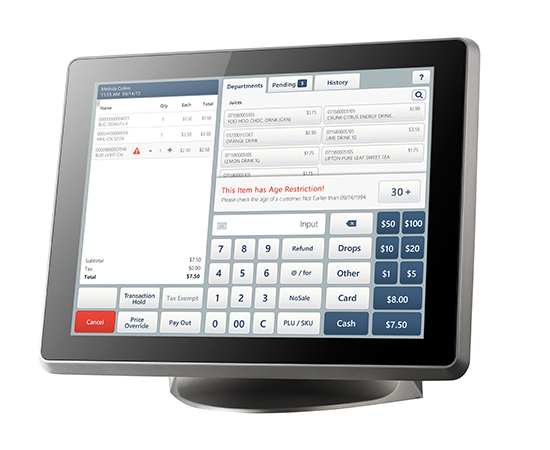 SmartPOS 400 retail Point of Sale System - Age Restricted Sale Compliance