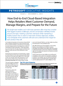 How End-to-End Cloud-Based Integration Helps Retailers Meet Customer Demand, Manage Margins, and Prepare for the Future