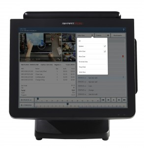 SmartPOS Video Journaling - View Transactions by Employee