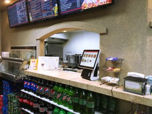 Qwickserve Foodservice Made-to-oder Self-service Ordering Terminal at a Customer's Store