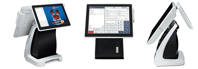 SmartPOS Retail Hardware and Software POS Bundled Solution