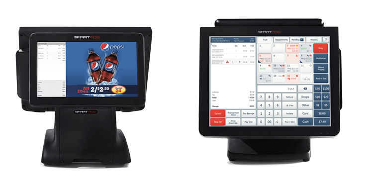 SmartPOS 800 Fuel Integration and Customer Promotions and Transaction Screen