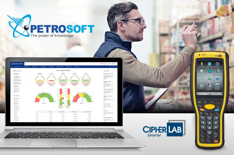 CipherLab USA and Petrosoft Partnership