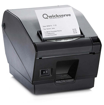 Foodservice Retailers' Kitchen Printer from Qwickserve