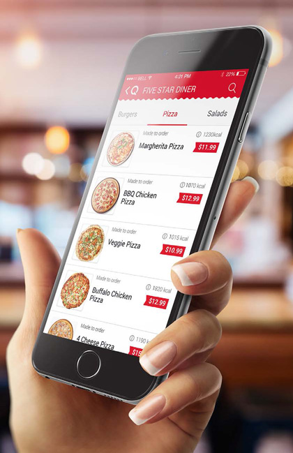 Qwickserve Mobile Ordering