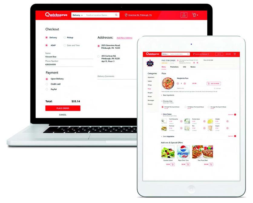 Qwickserve Online Ordering