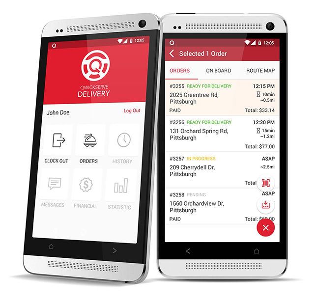 Qwickserve Delivery and Driver Management Mobile Application