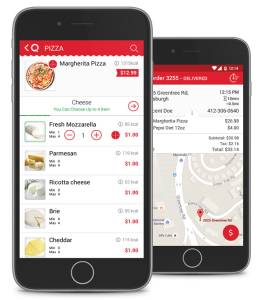 Foodservice Retailers' Customer Mobile Ordering App Solution from Qwickserve