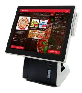 Foodservice Retailers' Customer Made-to-order Foodservice Ordering Kiosk Solution from Qwickserve
